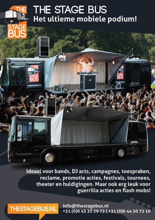 The Stage Bus Flyer