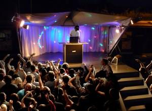 Dj @ the stagebus