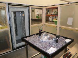 Containment gereed voor SCI548 onderzoek